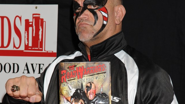 Road Warrior Animal Gets Nasty W/ Boy Meets World Star; Kurt Angle Signs For Toronto Fans