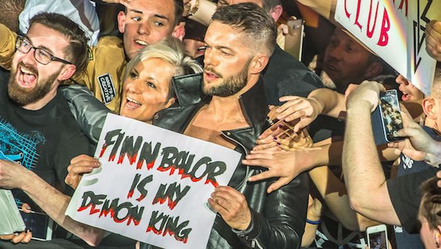 Finn Balor Attends Knicks Game w/ Cathy Kelley, Watch The Rock's Hollywood Walk Of Fame Ceremony (Video)