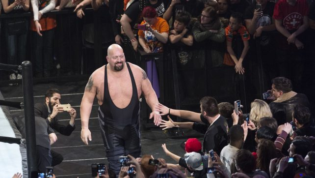 COLOGNE, GERMANY - FEBRUARY 11: Big Show during WWE Road to WrestleMania at the Lanxess Arena on February 11, 2016 in Cologne, Germany. (Photo by Marc Pfitzenreuter/Getty Images)