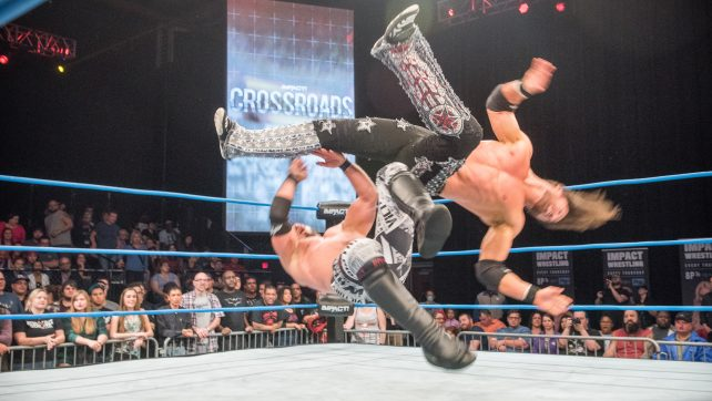 Johnny Impact Wins The Impact World Title As Austin Aries Bolts At Bound For Glory