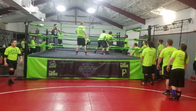 Matt Riddle Visits His Old Training Grounds In The Monster Factory (Photo), Jack Gallagher 'Burns' The Competition On UpUpDownDown (Video)