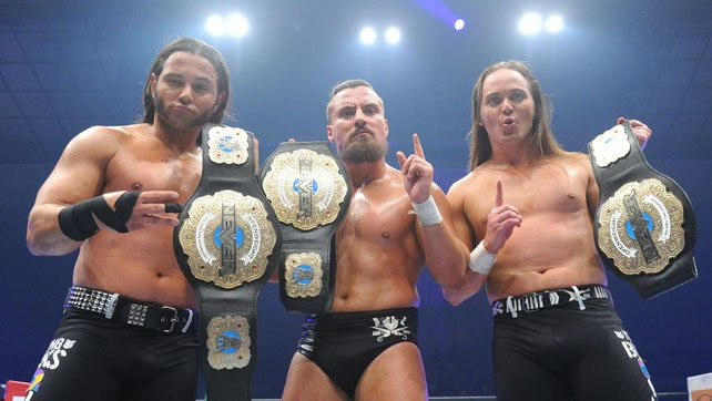 Marty Scurll The Young Bucks