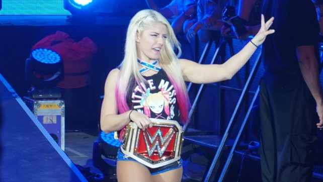 Alexa Bliss Reveals What The Women's Evolution Means To Her, Chad Gable Infiltrates No Way Jose's Conga Line (Video)