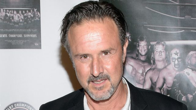 David Arquette Makes Appearance At Northeast Wrestling Show (Photo)
