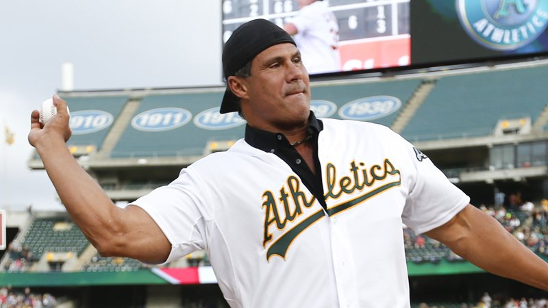 Jose Canseco Agrees To Terms With Pro Wrestling Company