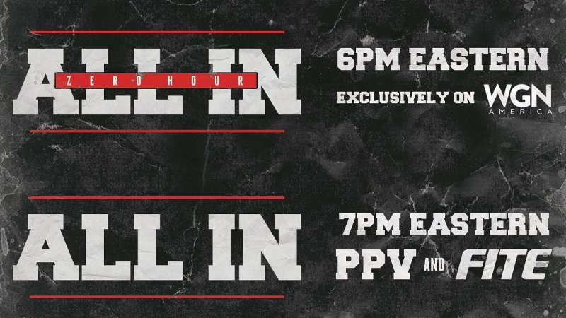 All In To Be Available On NJPW World