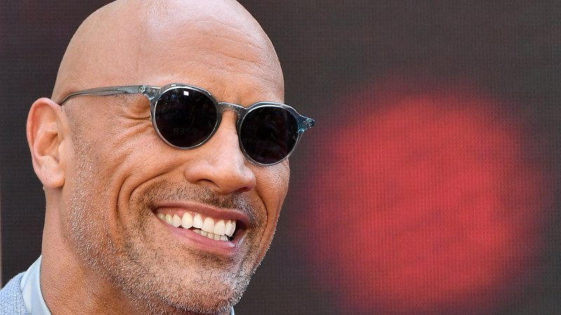The Rock Tastes His Own Blood After Throwing Around 50-lb Chains