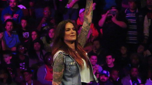 WWE Hall Of Famers Shine In Evolution's Opening Match; Nikki Bella Dedicates Tonight's Match To Ronda Rousey's Mom