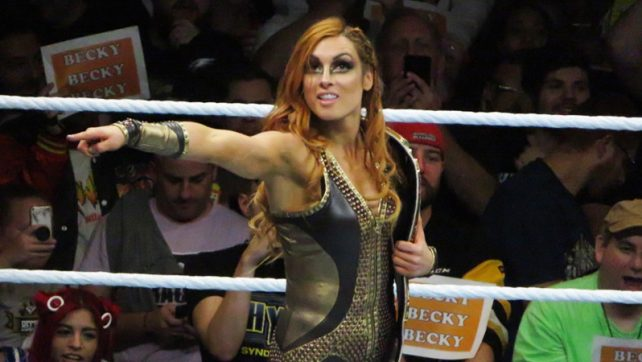Becky Lynch Compares New Wrestling Persona To Marine 6 Character, Has High Praise For The Miz & Shawn Michaels