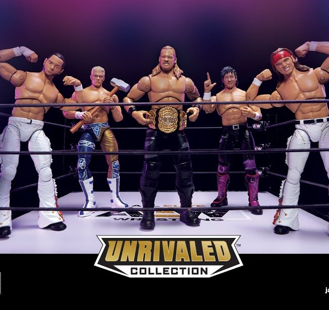 AEW Unrivaled Figures