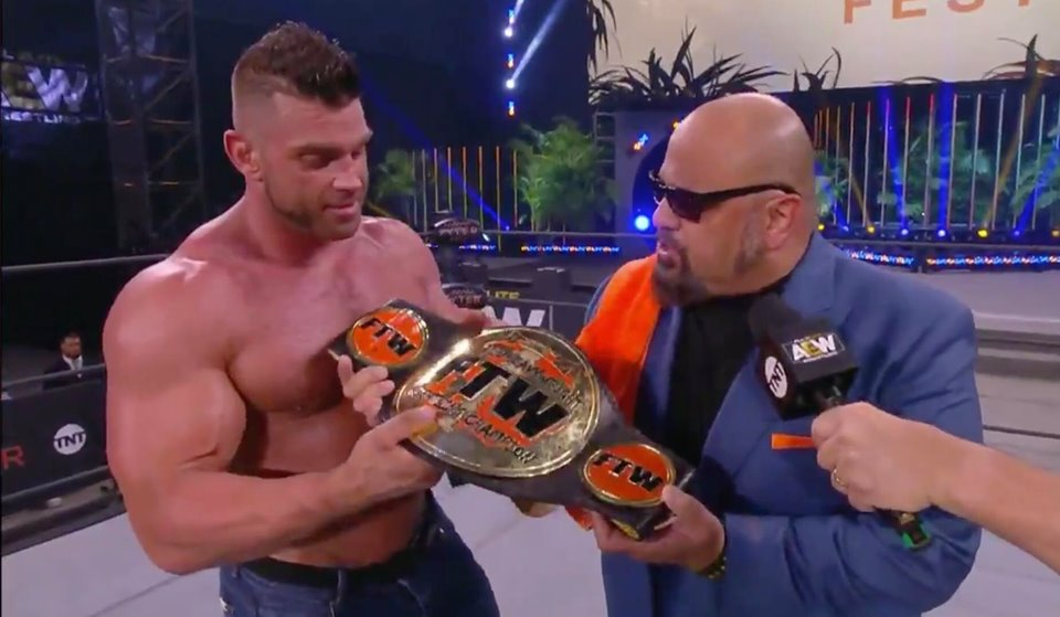 Brian Cage Taz FTW