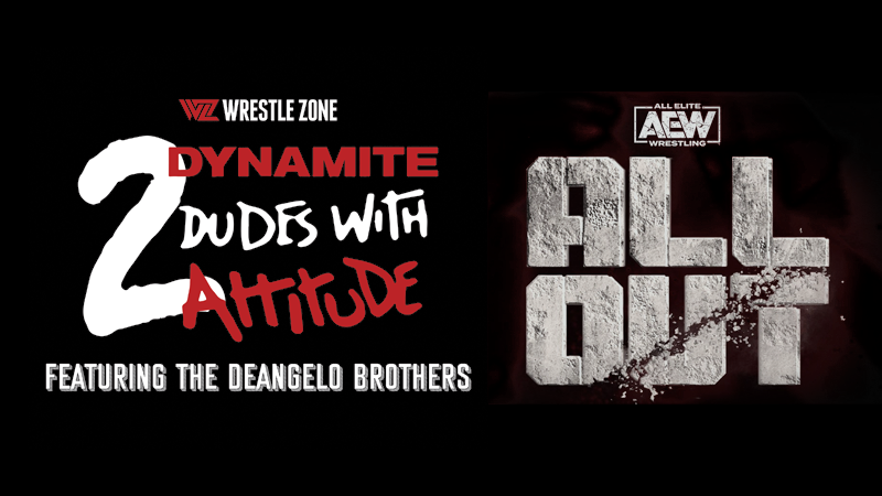 2 Dynamite Dudes AEW All Out