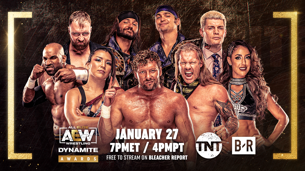 AEW Dynamite Awards Announcement