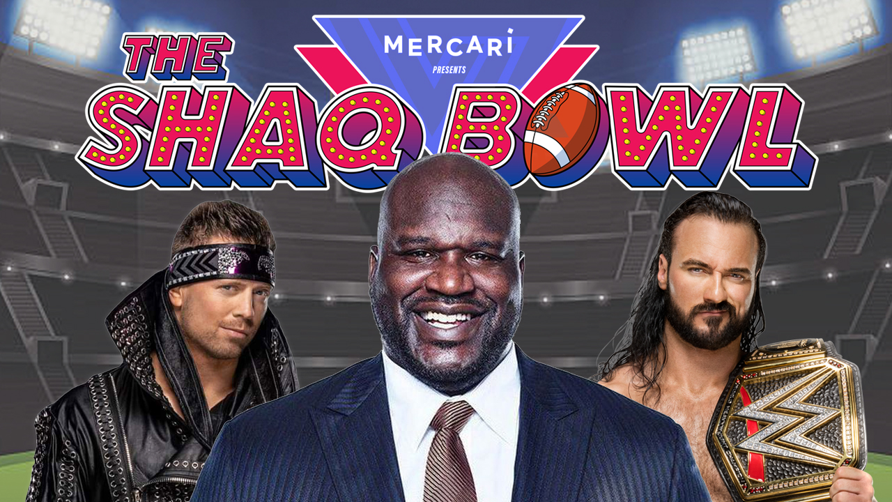 drew mcintyre the miz shaq bowl