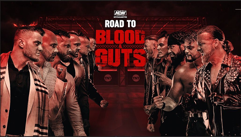 AEW Dynamite Blood Guts