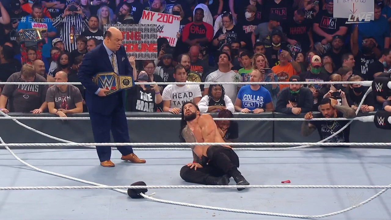 Reigns WWE Extreme Rules