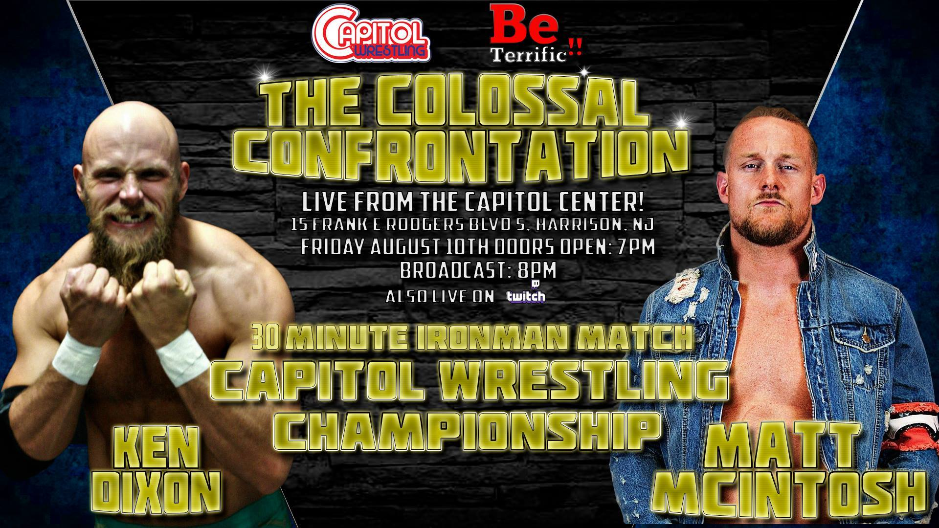 Capitol Wrestling's Colossal Confrontation
