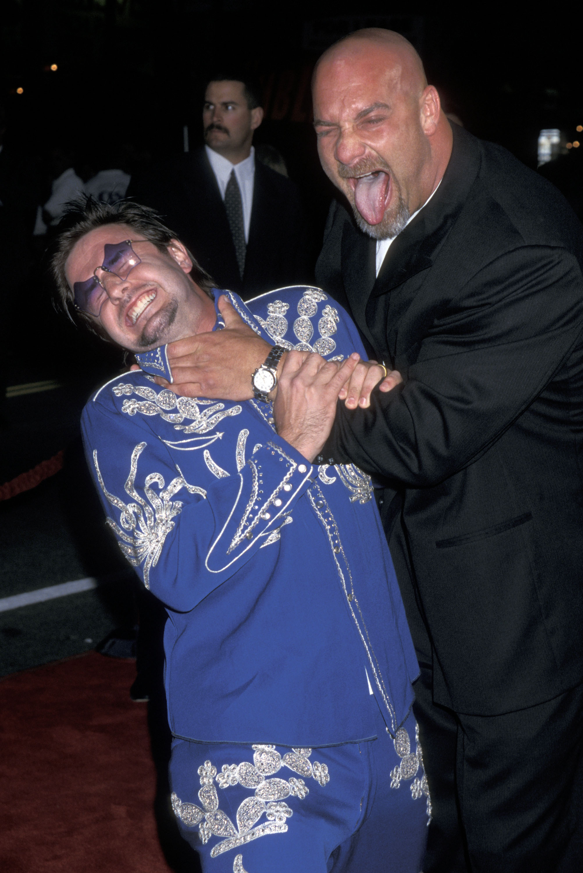 David Arquette & Goldberg