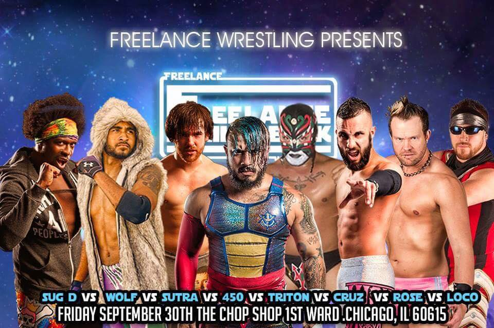 Freelance Wrestling 8-Man Scramble