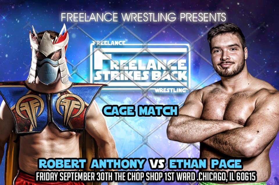"""Ego v Ego"" Steel Cage Grudge Match"