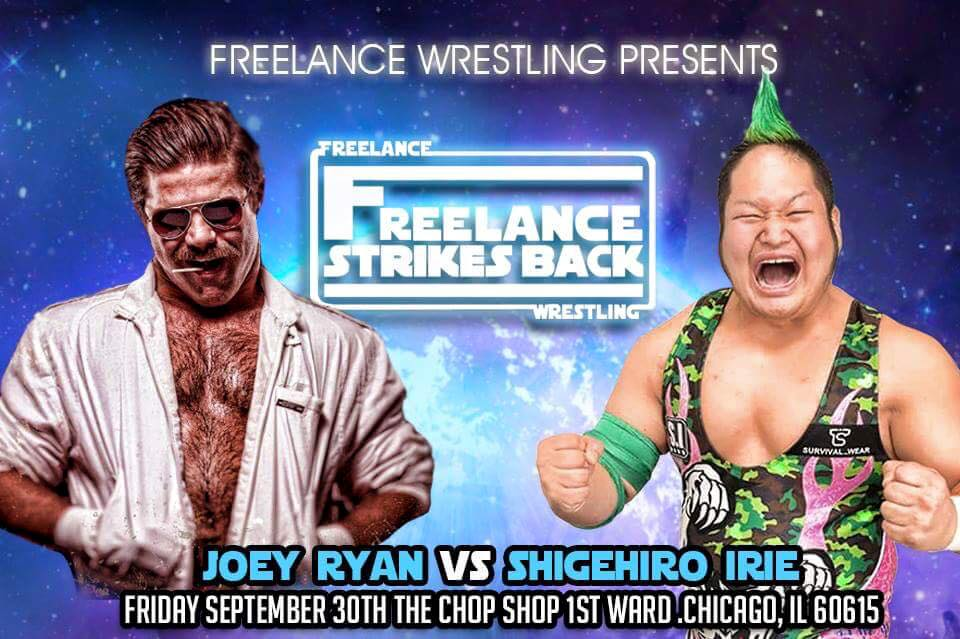 Freelance Wrestling Attraction Match: Joey Ryan vs Shigehiro Irie