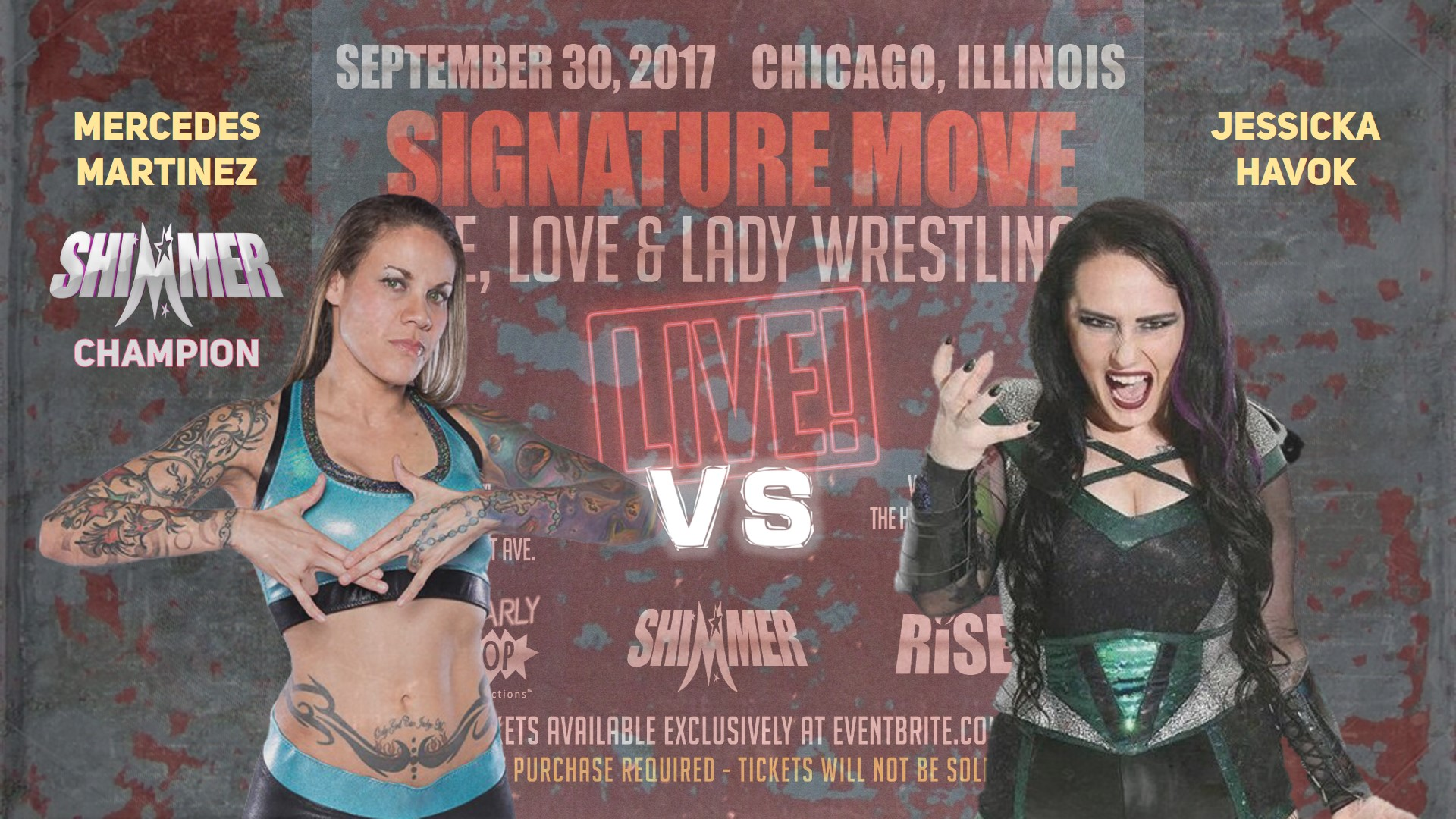 LIFE, LOVE & LADY WRESTLING – LIVE!
