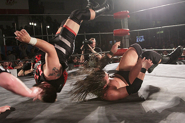 Adam Cole Dumps Kevin Steen On His Head
