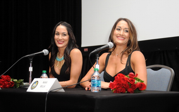 The Bella Twins at the Philly Comic Con