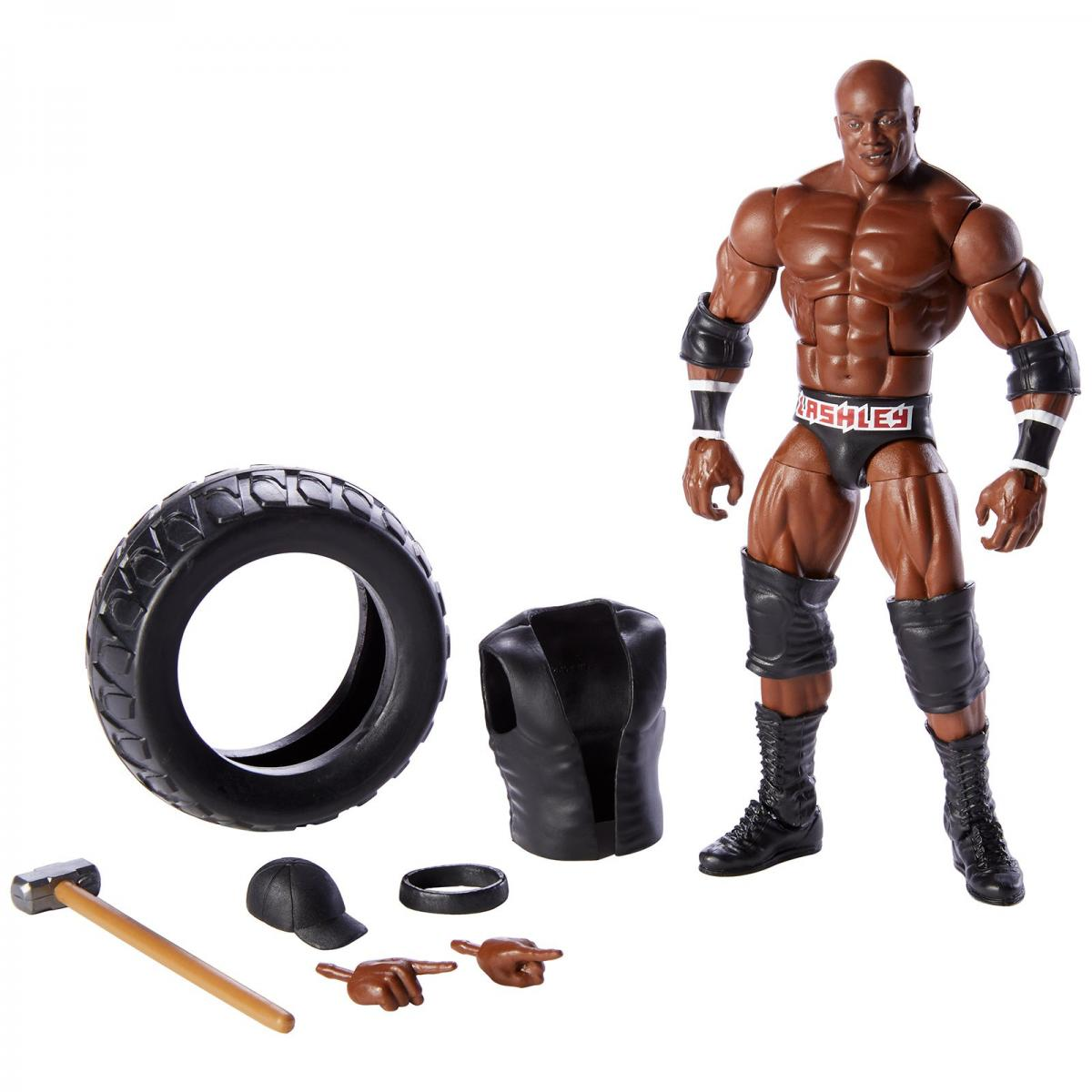 Wwe Elite 69 The Rock Mattel